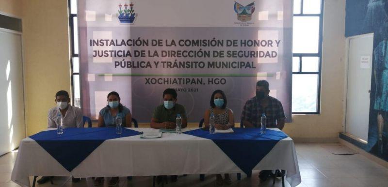 Se Instaló la Comisión de Honor y Justicia de la Dirección de Seguridad Pública y Tránsito Municipal